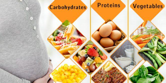 رژیم دیابت بارداری برای کنترل قند در دیابت بارداری