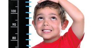 افزایش قد کودکان با تغذیه